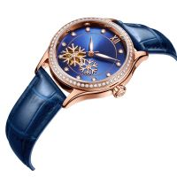Luxury automatic gezfeel lady watches