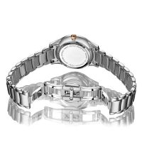 High end luxury fashion decorative woman stainless steel watch
