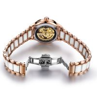 Mechanial women watches ladies fancy wrist watch by china supplier
