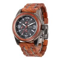 Custom your own brand luxury men wood watch high quality watch for men