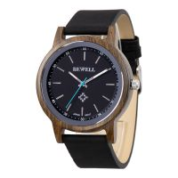 Daily Waterproof Natural wood case with Vegan Strap quartz quality wood wrist watches