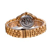 Luxury Stainless Steel automatic mechanical ladies wrist watch