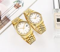Custom Brand Stainless Steel Watch Japan Movement Water Resistant Lover Watch.