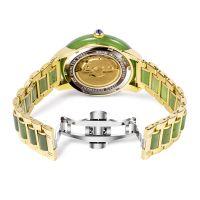 China Watch Supplier Custom Jasper Automatic Mechanical Zodiac Jade Watches For Couple