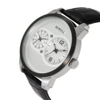 New Arrived Fashion Luxury Big Face Stainless Steel Watch For Men