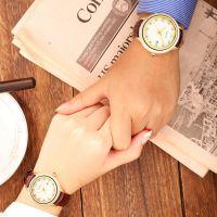 Custom Jade Gift Luxury Mark White Jade Watch for Couple
