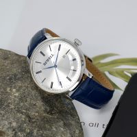 China Factory OEM Classic Stainless Steel Watch With Genuine Leather For Men
