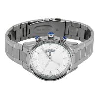 Lasted Custom Dual Calender Japan Movement Fashion Stainless Steel Watch
