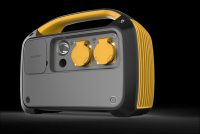800wh/500w continuous output power, portable solar generator camping backup power emergency off grid solar system