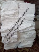 100% Cotton new Bleached White Single Jersey Rags