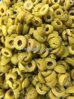 whole green olives