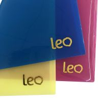 Office Stationery Manufacturer Translucent A4 FC Plastic Document Bags With Card Holder