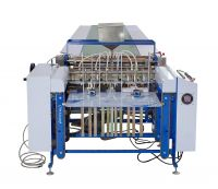 automatic packaging paper feeding and gluing machine
