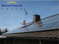 1KW-1MW Rooftop On-grid Solar Power System