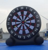 Outdoor Inflatable Football Dart Sport Game For Adults Amusement Inflatables B6088