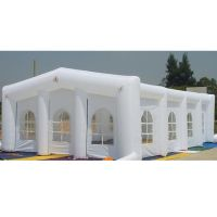 Custom Giant Inflatable White Tent For Wedding Events Party Tent for Outdoor