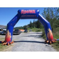 Sport team advertising inflatable arch/archway for promotion K4068