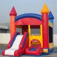 Commercial inflatable bouncer with slide, giant inflatable toys for party B3062
