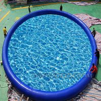Giant Inflatable Swimming Pool 12m Diameter Outdoor Commercial Grade Roun Pool D2047