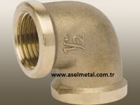 Brass 90 Degree Elbow Fitting