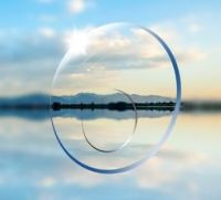 Bifocal  round top lenses