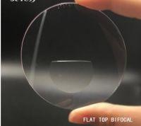 Bifocal  flat top lenses