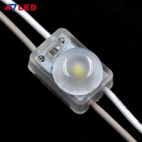 Hot selling small size 12v 0.36w 1 lamp 160 degree lens injection smd 2835 mini led module