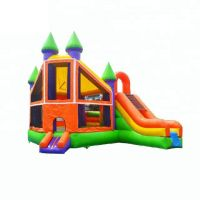 5006343- Factory Wholesale Cheap Inflatable Bouncer with Slide Combo for Toddlers