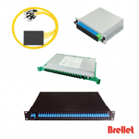 Planar Light Wave Circuit (PLC) Splitter Brellet