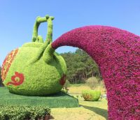 Outdoor Artificial Green Hedge Statue Or Sculpture Arificial Hedge Animals