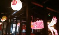 Customized Chinese Fish Lantern Festival Lantern In Restaurant As Shop Signs