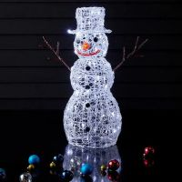 Chinese Factory Pre-Lit Commercial Grade Acrylic Christmas Display Christmas Decorations