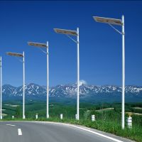 20W 40W 60W80W All-In-One Solar LED Street Lamp Parking Lot Light