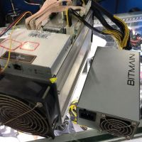 Used AntMiner S9 13.5T with APW3-12-1600W psu Asic Miner 16nm Btc BCH Miner Bitcoin Mining Machine