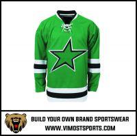 OEM 100% Polyester  Custom Sublimation Ice Hockey Jersey