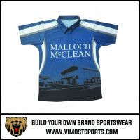 OEM 100% Polyester  Custom Sublimation Cool Dry Polo Shirt