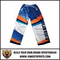 OEM 100% Polyester  Custom Sublimation Ice hockey pants