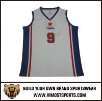 Custom Logo Unisex Sports Wear Basketball Shirts