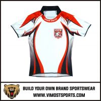 New Breathable Polyester Rugby Shirts