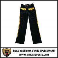 OEM 100% polyester Custom Sublimation Baseball Pants
