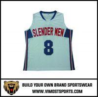 OEM 100% polyester Custom Sublimation Basketball Jersey