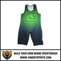 Adults OEM Service Sublimation Wrestling Singlet