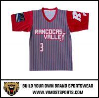 OEM 100% Polyester  Custom Sublimation Soccer jersey