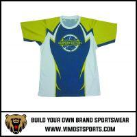 OEM Custom Sublimation Printed sportswear T-shirt