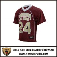 OEM 100% Polyester  Custom Sublimation Lacrosse Jersey