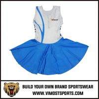 OEM 100% Polyester  Custom Sublimation netball skirt
