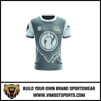 new fashion sublimated 100% polyester custom printing best gaming t shirts