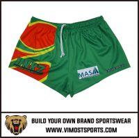 OEM design sublimation rugby shorts