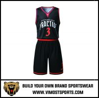 Men's Custom Sublimation Basketball Suit
