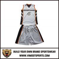Men's Custom Sublimation Basketball Suit